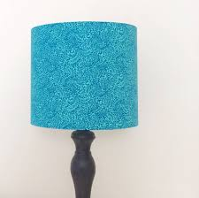 liberty print handmade drum lampshade