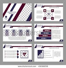 set of infographic elements presentation template book cover design abstract position a4