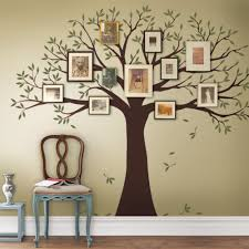 family tree wall decal on tree wall art decals vinyl sticker with family tree decal two colors wall decals scheme a