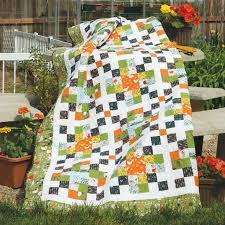 19 best Full Size Quilt Patterns images on Pinterest | Amish ... & GARDEN BOXES: Strip-Pieced Full Size Quilt Pattern Designed by KATE  COLLERAN Machine quilted Adamdwight.com