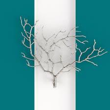 metal tree branch wall sculpture 3d model max obj fbx mtl 1  on metal wall art trees and branches with metal tree branch wall sculpture 3d cgtrader