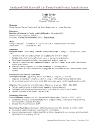 Human Services Resume Examples