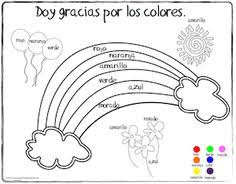 Small Picture Printable coloring sheet Spanish for kids Printout of fruit in