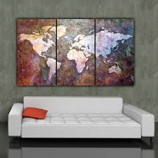 >large world map canvas gecce tackletarts  large world map canvas