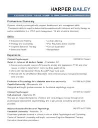 Best Staff Psychologist Resumes | Resumehelp
