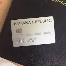 banana republic visa