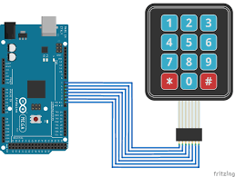 use a keypad your arduino circuit diagram