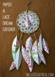Dream Catcher Without Feathers Paper lace dream catcher for Abbie's room 8