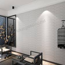3d wallpapernew pe foam 3d wallpaper diy wall stickers wall decor embossed brick stone white b072pwwd8z