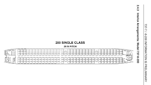 737 Max 200 Seating Chart Boeing 737 Max 8 Seat Map