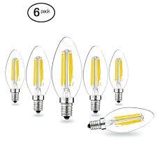 led bulbs for chandelier 6 led candelabra base bulb chandelier light bulbs daylight white watt led led bulbs for chandelier