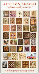 Quilt Inspiration: Free Pattern Day ! Autumn Leaves quilts & Modern Maple pillow, free pattern at All People Quilt Adamdwight.com