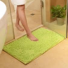50x80cm 19x31 microfiber bath mat washing machine dry faster chenille microfiber bath mat bath mats microfiber mat machine mat with 26 85 piece on