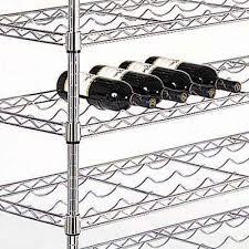 chrome wine rack. Contemporary Rack Wine Racks  Close Up With Chrome Rack