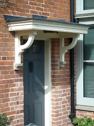 stylish door canopy regarding front designs hfer ideas 12