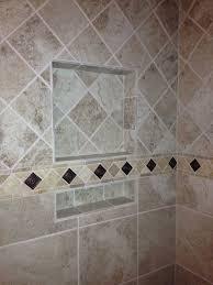 Tile Pattern Change Upper Tile Diamond Pattern Lower Straight