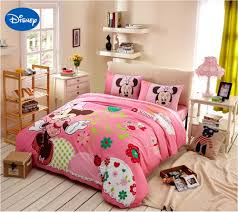Minnie Mouse Bed Sheets Full Size Disney Minnie Girls 100 Cotton ...