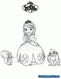 Princess Sofia Coloring Pages Printable Coloring Pages For Kids