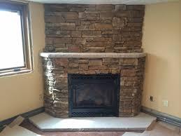 limestone hearth