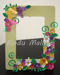 wooden photo frame punch craft inspiration from dr sonia s blog cardsandschoolprojects blo com