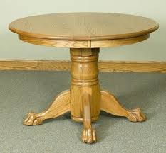 claw feet table antique oak
