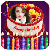 Name Photo On Birthday Cake Candy Frame Filter 12 Apk Com
