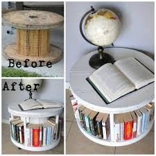 wooden spindle bookshelf