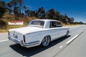 Slammed 1965 Rolls Royce Silver Shadow