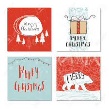 christmas gift card templates set of 4 cute christmas gift cards with quote merry christmas