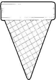 empty ice cream cone coloring page. Fine Cream Ice Cream Cone Template   In Empty Coloring Page Pinterest