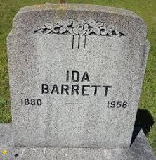 Ida Barrett (1880-1956) - Find A Grave Memorial
