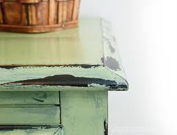 distressing old furniture. Chippy-Vaseline-Distressed-Dsk Distressing Old Furniture