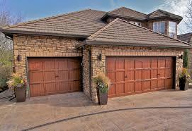 Carriage Doors With Decor Carriage Garage Doors No Windows Image 17