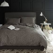 home d cor dark gray leopard print bedding sets queen king double complex duvet cover realistic 9 picture size 800x800 posted by at september 4 2018