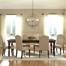 black dining room chandelier black drum chandelier in dining room photo concept