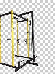power rack pulley fitness equipment of ottawa exercise equipment row rack png clipart