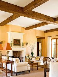 Small Picture Paint Colors for Rooms Trimmed with Wood Wood trim Beams and Woods