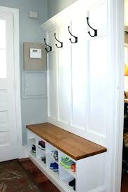 Built In Coat Rack Impressive Built In Mudroom Bench Modabomco