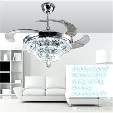 chandelier ceiling fans crystal fan brilliant led lights invisible with regard to light kit chandelier ceiling fans