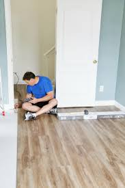 installing luxury vinyl flooring