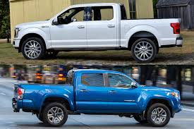 Toyota Truck Gas Mileage Chart 2018 Ford F 150 Vs 2018 Toyota Tacoma Which Is Better