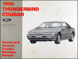 1990 ford thunderbird mercury cougar factory wiring diagram orginal 1990 ford thunderbird mercury cougar electrical troubleshooting manual