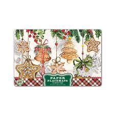 Designer Paper Placemats Amazon Com Michel Design Works 25 Count Paper Placemats