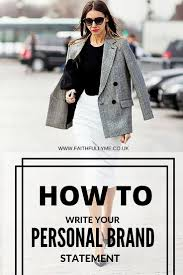 best ideas about personal brand statement how to write your personal branding statement personal branding branding