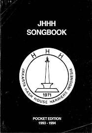 1993 1995 Jakarta HHH JHHH Song Book Pocket Edition