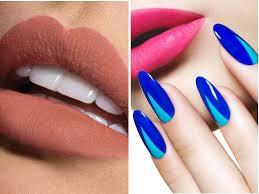 lipsticks to go with royal blue dresses