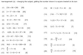 worksheet rearranging equations worksheet question of the week 4 rearranging formula mr barton maths blog picture2