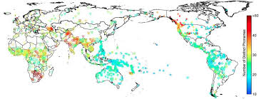 Geographic Patterns Extraordinary Probing The Deep History Of Human Genes And Language