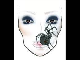Mac Halloween Face Charts