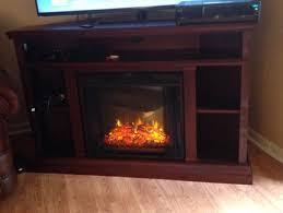 real flame churchill electric fireplace tv stand